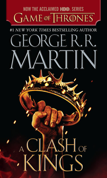 A Clash of Kings book cover