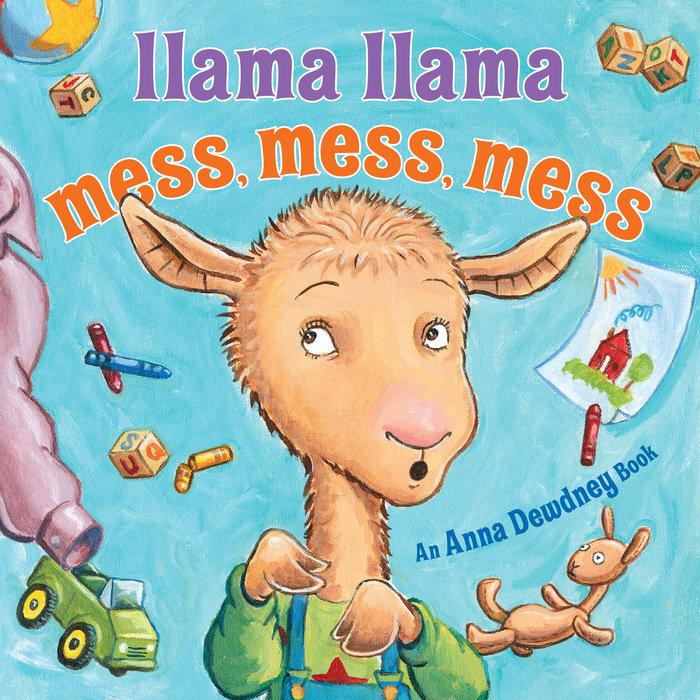Llama Llama Mess Mess Mess Cover
