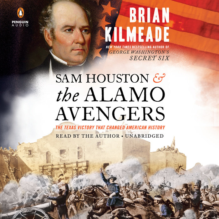 Sam Houston and the Alamo Avengers Cover