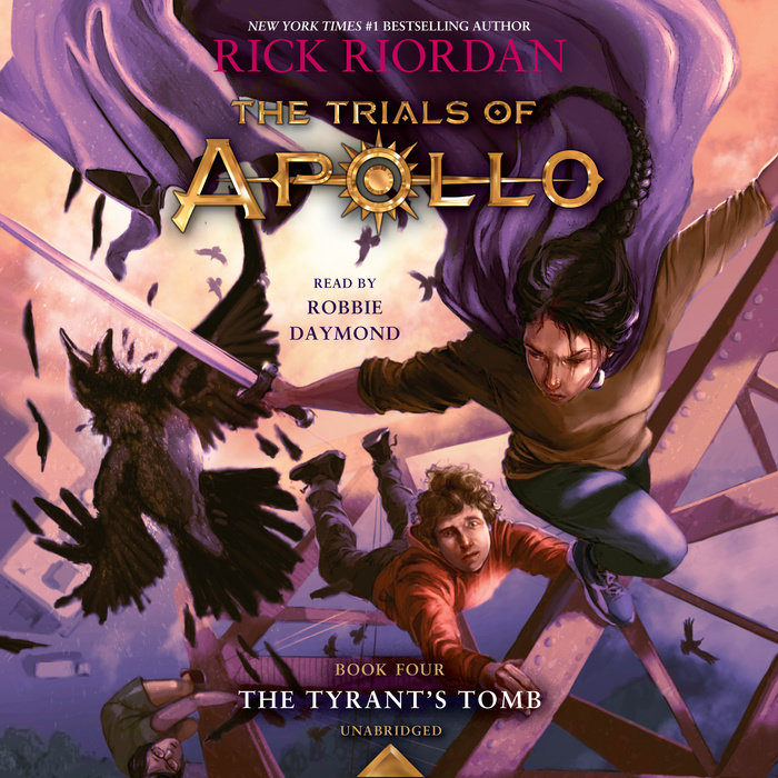 The Trials of Apollo, Book Four: The Tyrant's Tomb Cover