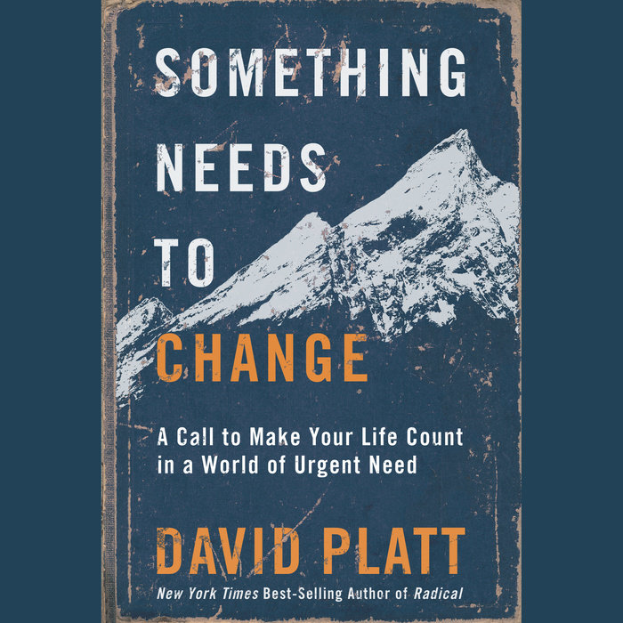 Something Needs to Change Cover