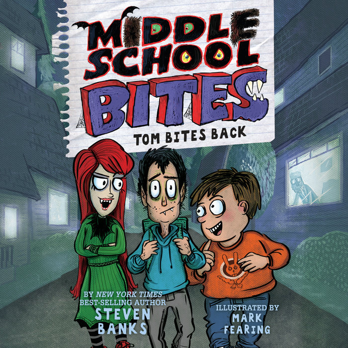 Middle School Bites: Tom Bites Back Cover