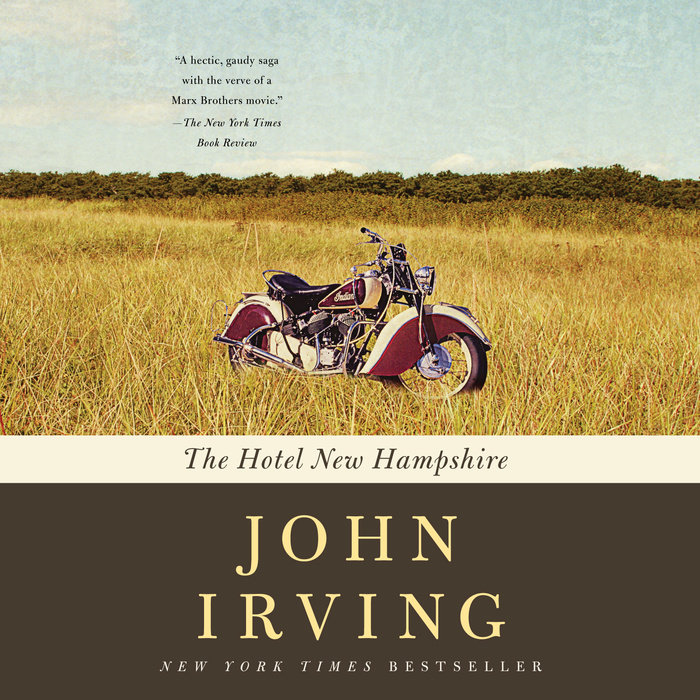 The Hotel New Hampshire Cover
