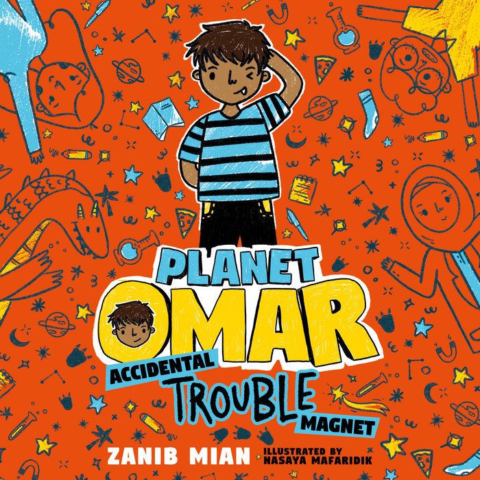 Planet Omar: Accidental Trouble Magnet Cover