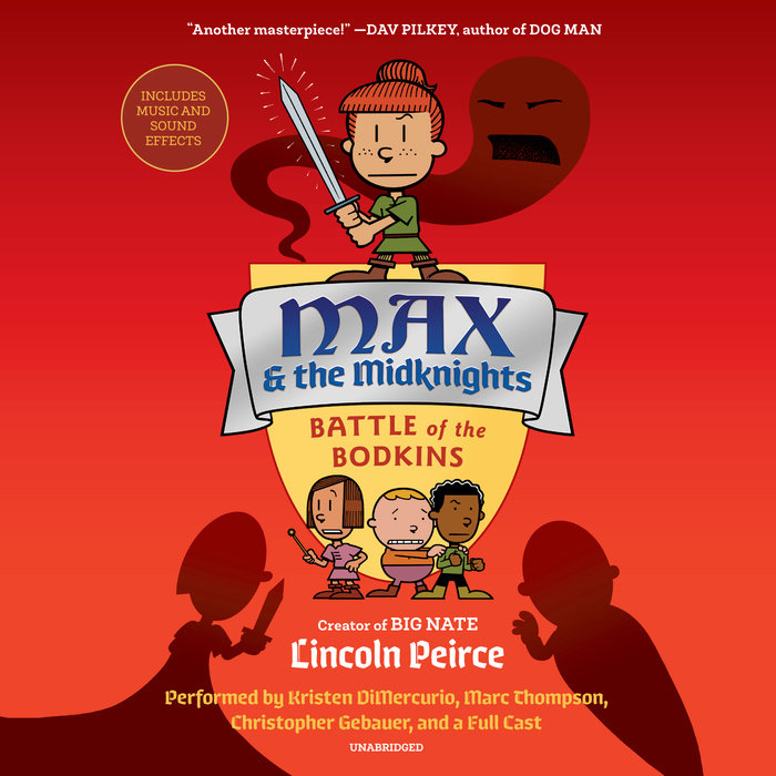 Max and the Midknights: Battle of the Bodkins Cover