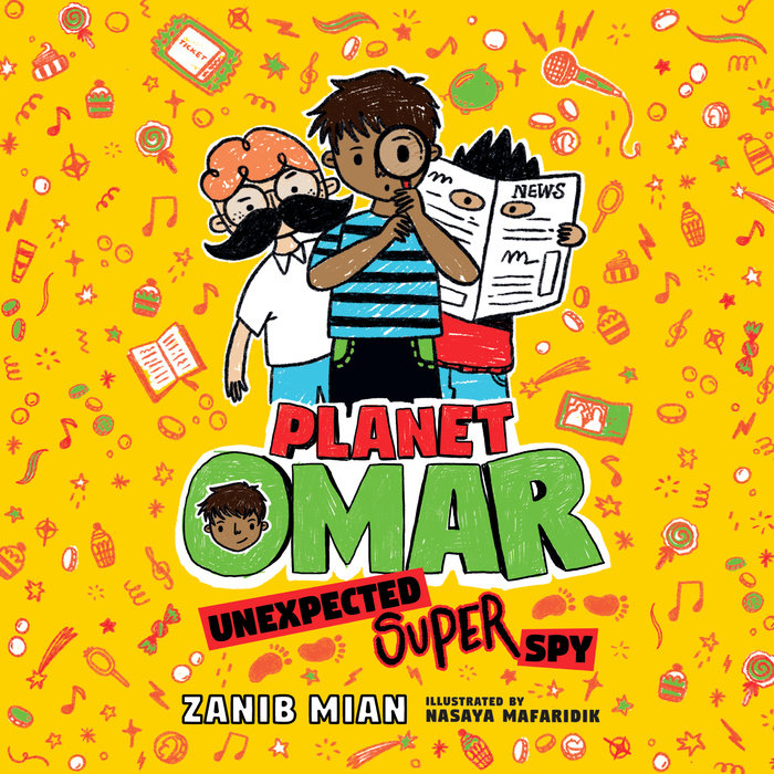 Planet Omar: Unexpected Super Spy Cover