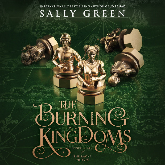 The Burning Kingdoms Cover