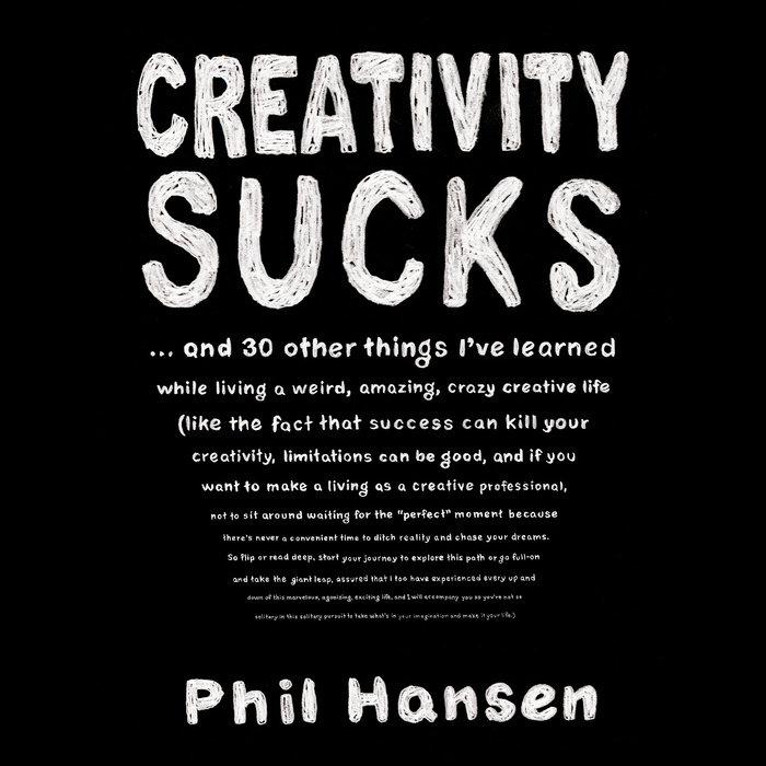 Creativity Sucks Cover