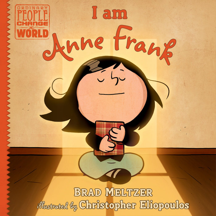 I Am Anne Frank Cover