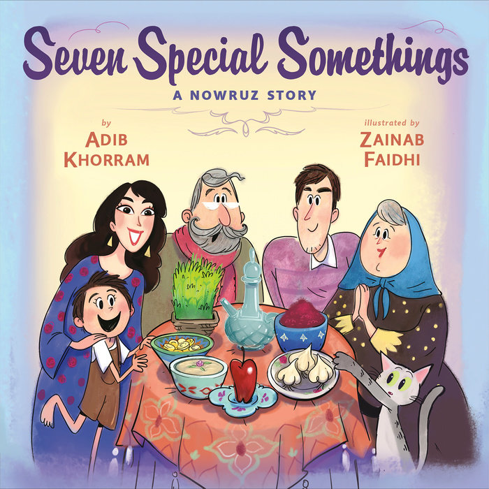 Seven Special Somethings: A Nowruz Story Cover