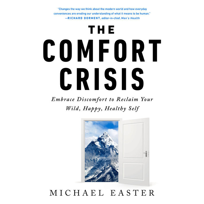 The Comfort Crisis Cover