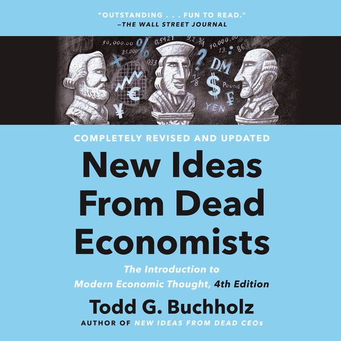 New Ideas from Dead Economists Cover
