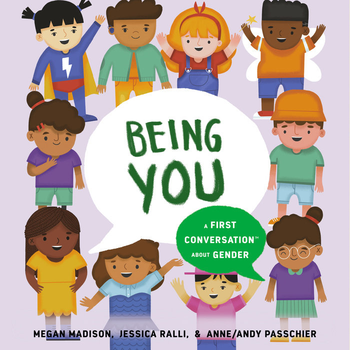 Being You: A First Conversation About Gender Cover