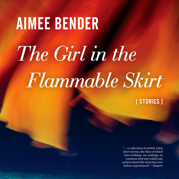 The Girl in the Flammable Skirt Cover