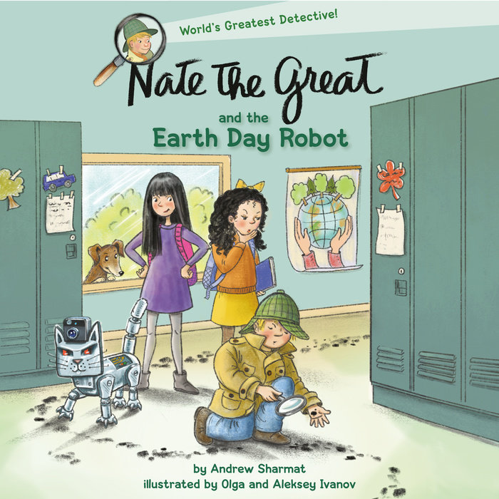 Nate the Great and the Earth Day Robot Cover