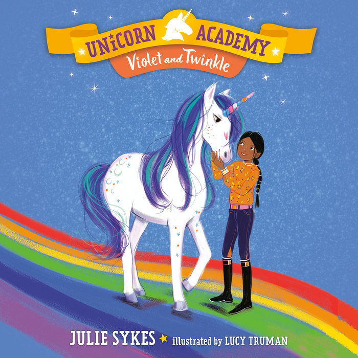 Unicorn Academy #11: Violet and Twinkle Cover