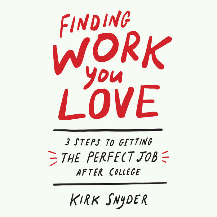 Finding Work You Love Cover
