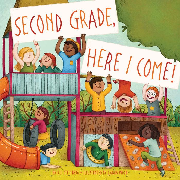 Second Grade, Here I Come! Cover