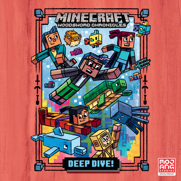 Deep Dive! (Minecraft Woodsword Chronicles #3) Cover