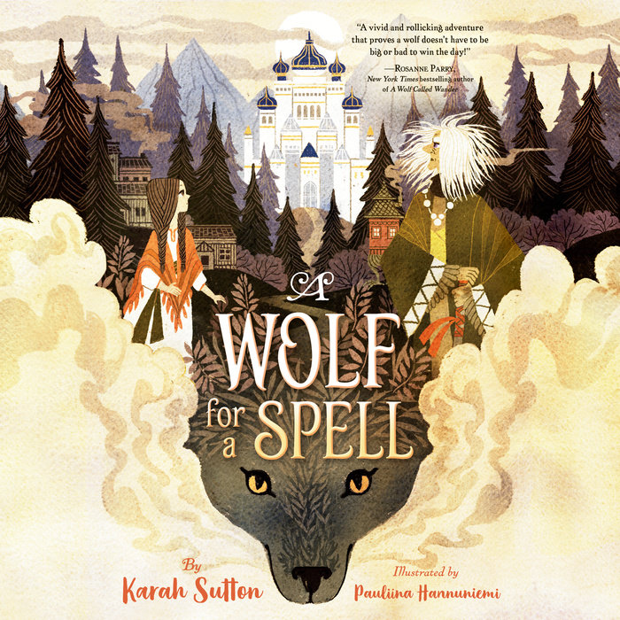 A Wolf for a Spell Cover