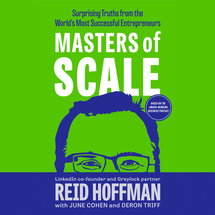 Masters of Scale Cover