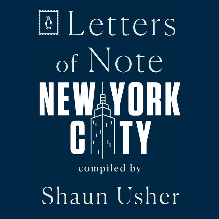 Letters of Note: New York City Cover