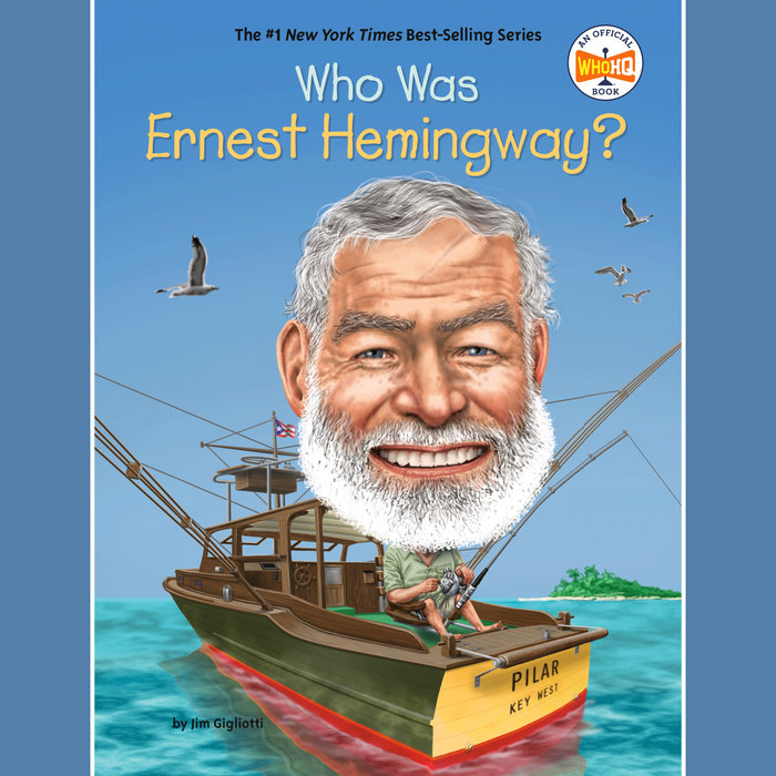 Who Was Ernest Hemingway? Cover