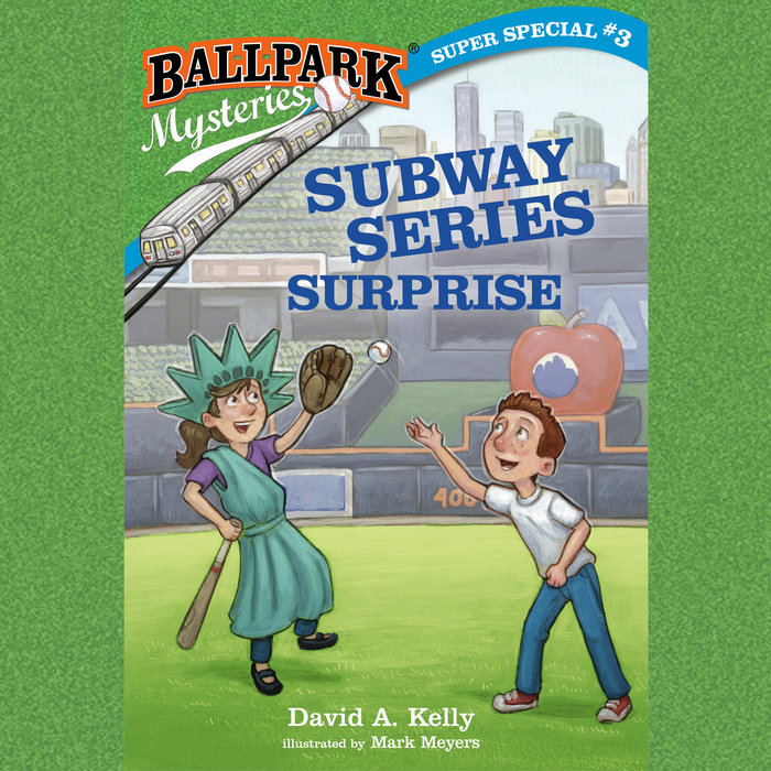 Ballpark Mysteries Super Special #3: Subway Series Surprise Cover