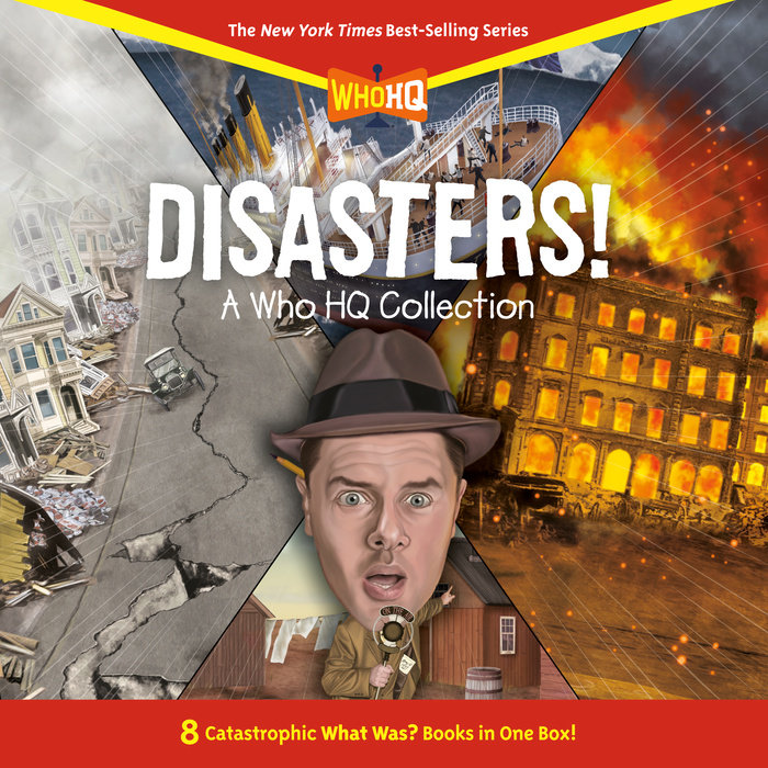 Disasters!: A Who HQ Collection Cover