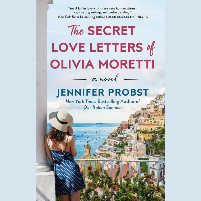 The Secret Love Letters of Olivia Moretti Cover