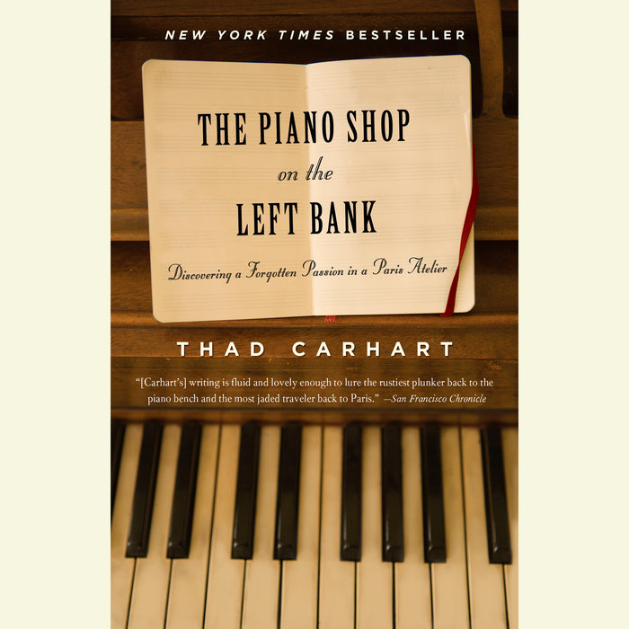 The Piano Shop on the Left Bank Cover