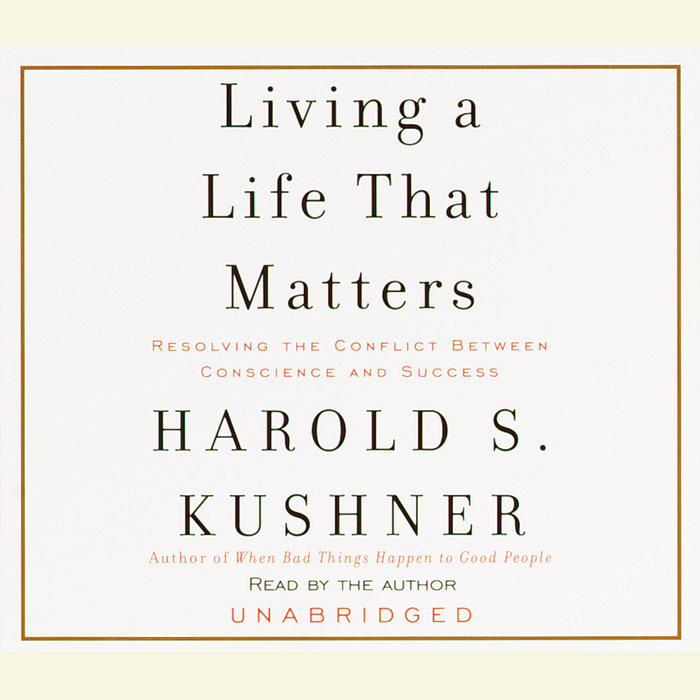 Living a Life That Matters Cover