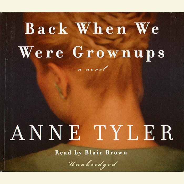 Back When We Were Grownups Cover