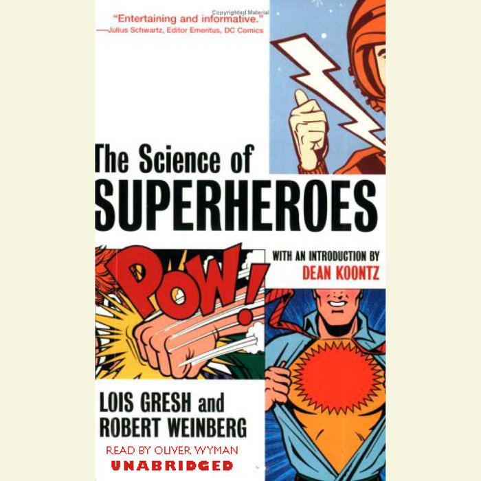 The Science of Superheroes Cover