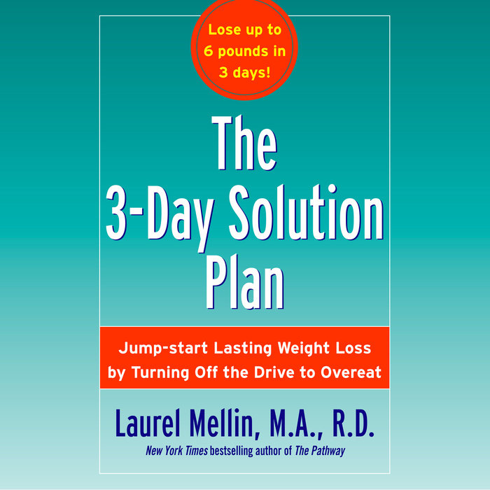 The 3-Day Solution Plan Cover