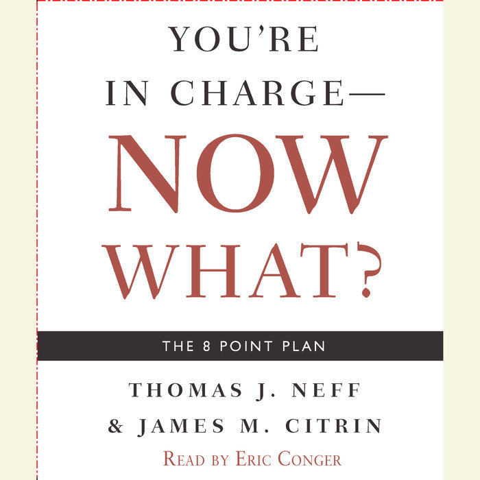 You're in Charge--Now What? Cover