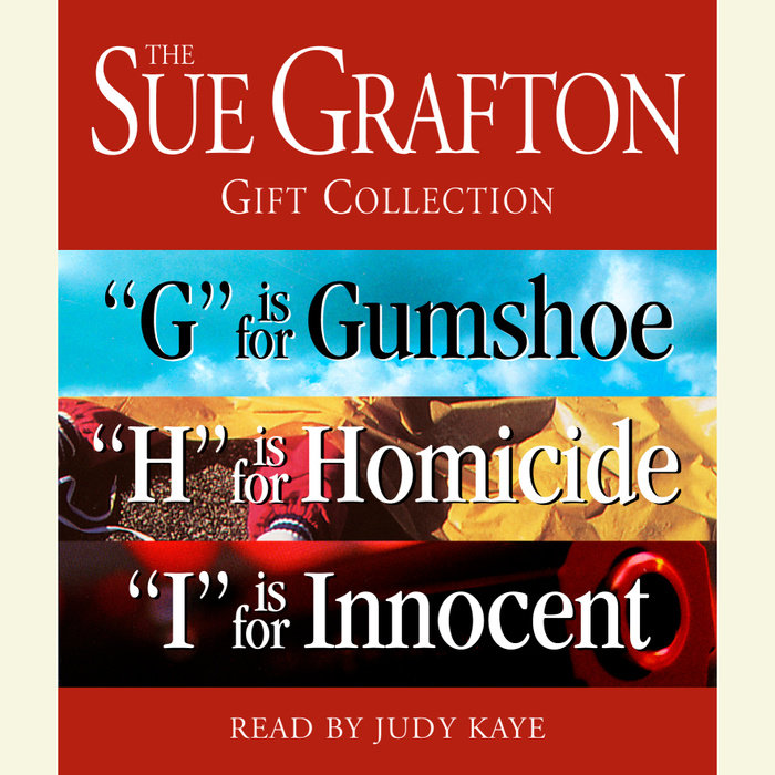 Sue Grafton GHI Gift Collection Cover
