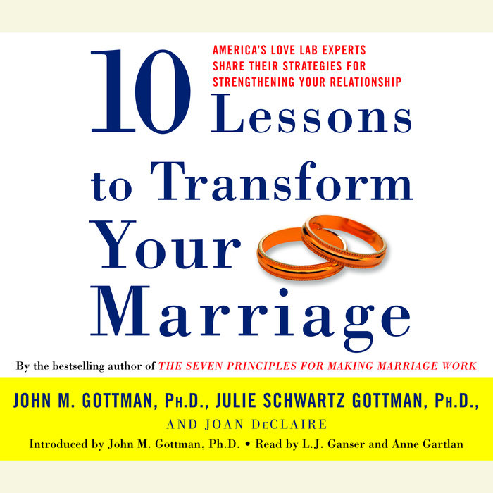 Ten Lessons to Transform Your Marriage Cover
