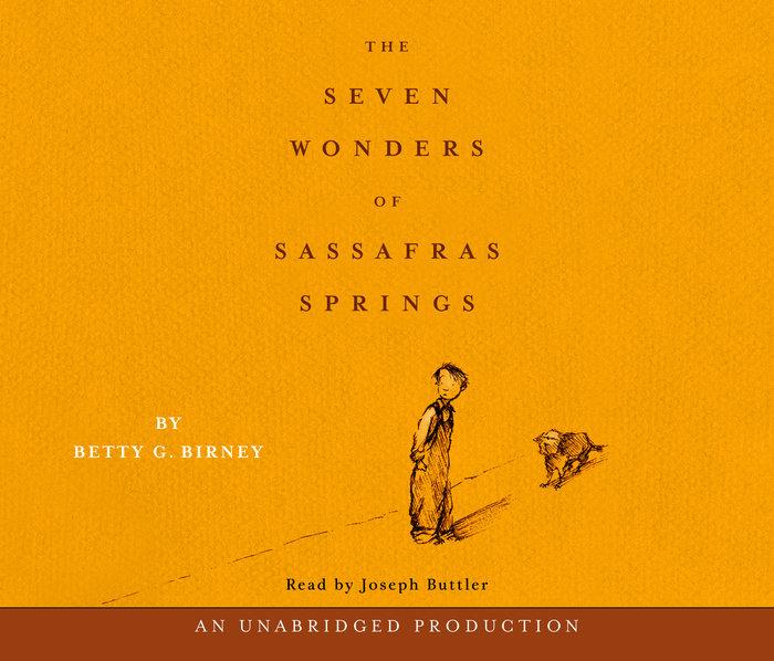 The Seven Wonders of Sassafras Springs Cover