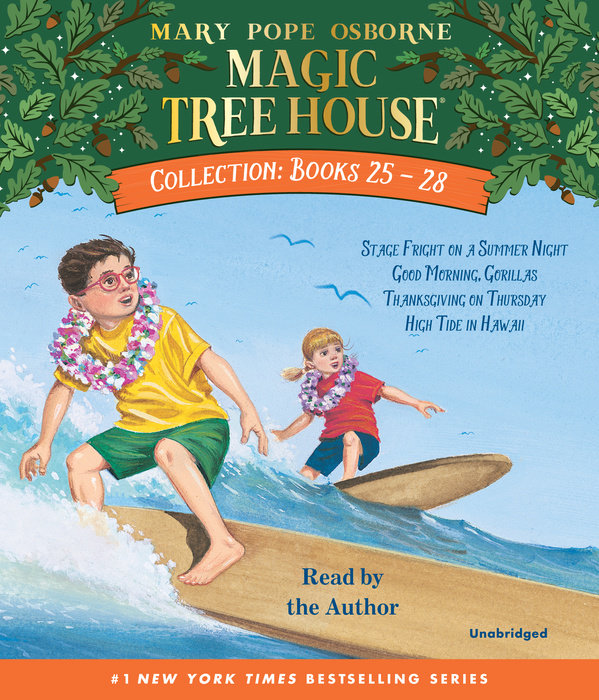 Magic Tree House Collection: Books 25-28 Cover
