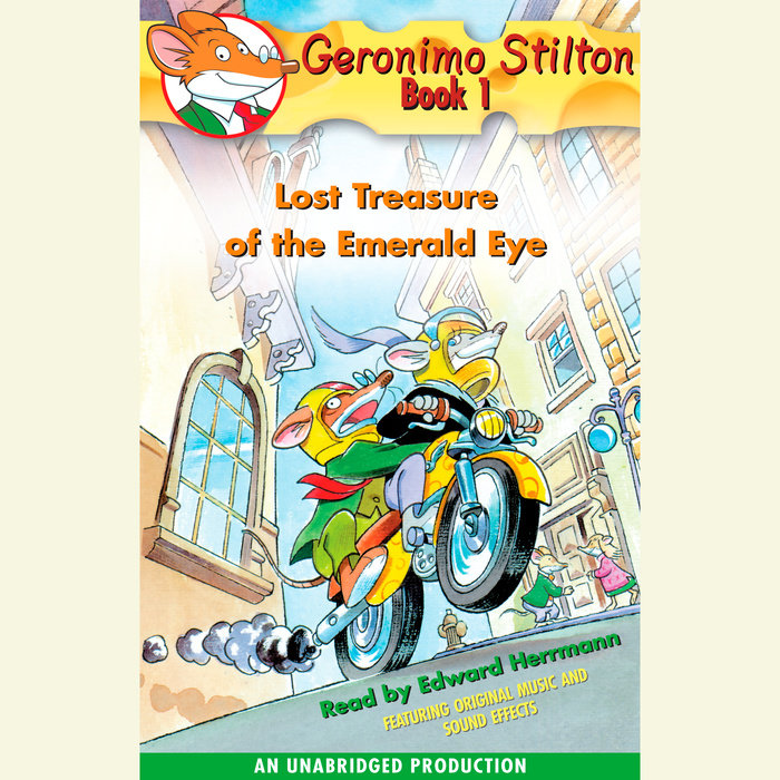 Geronimo Stilton Book 1: Lost Treasure of the Emerald Eye Cover
