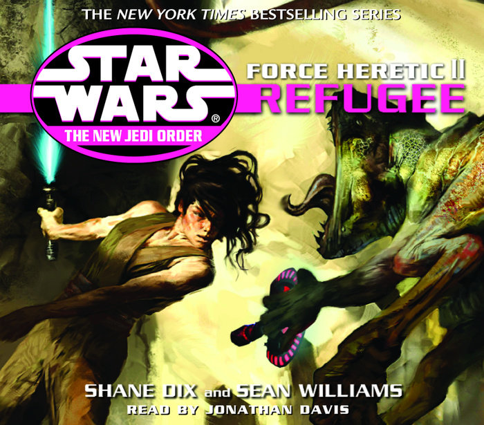 Star Wars: The New Jedi Order: Force Heretic II: Refugee Cover