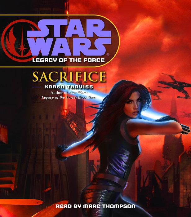 Star Wars: Legacy of the Force: Sacrifice Cover