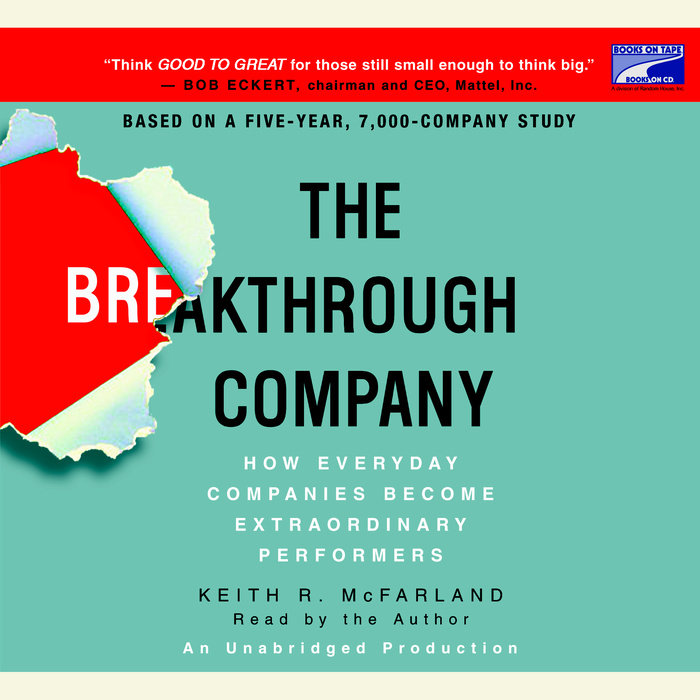 The Breakthrough Company Cover