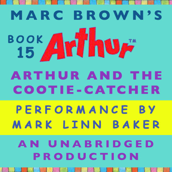 Arthur and the Cootie-Catcher Cover