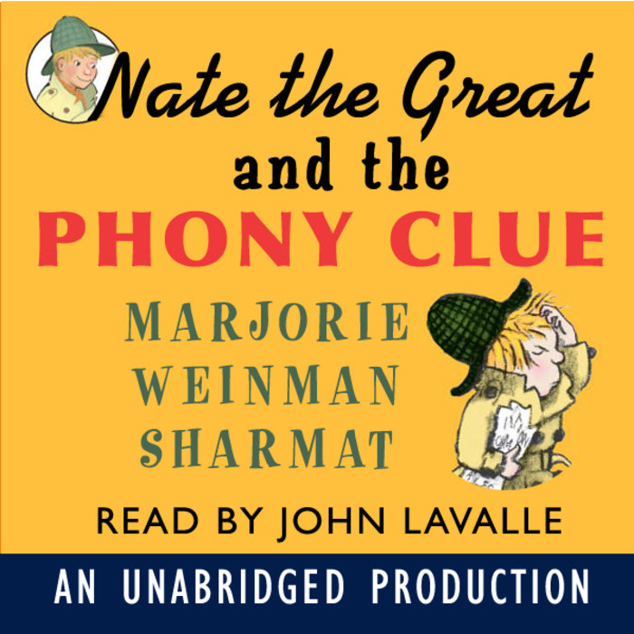 Nate the Great and the Phony Clue Cover