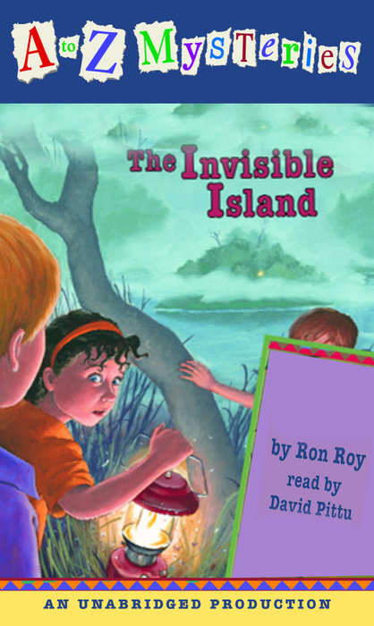 A to Z Mysteries: The Invisible Island Cover