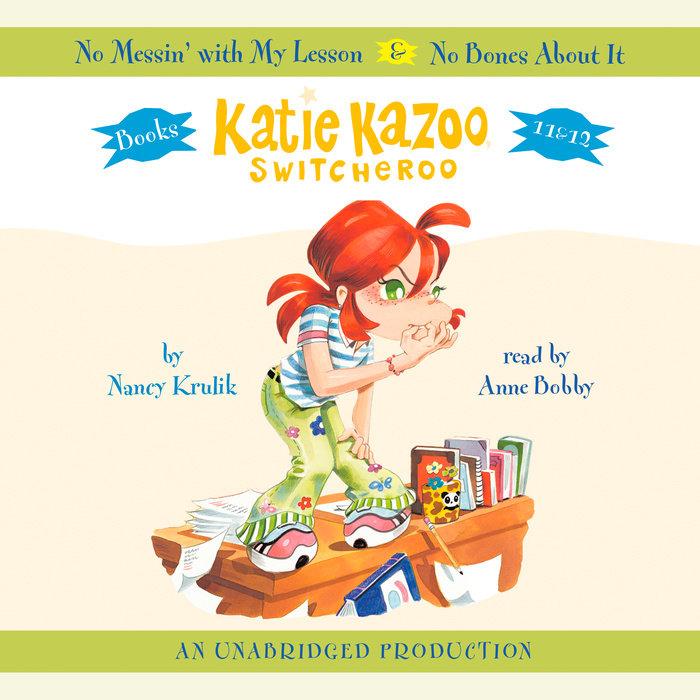 Katie Kazoo, Switcheroo #12: No Bones About It Cover