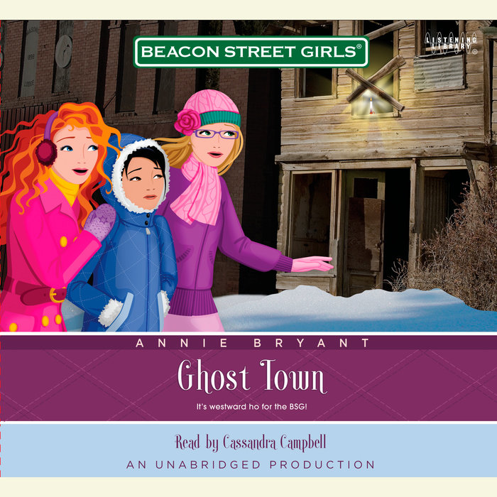 Beacon Street Girls #11: Ghost Town Cover