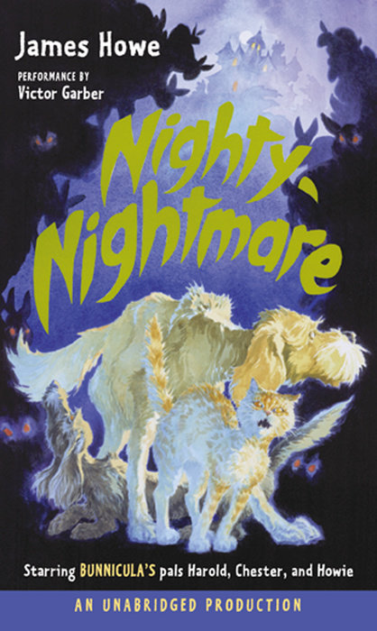 Bunnicula: Nighty-Nightmare Cover